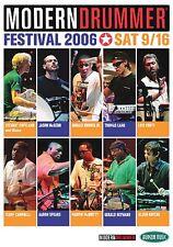 Modern Drummer Festival 2006 Saturday Instructional Drum DVD NEW 000320650