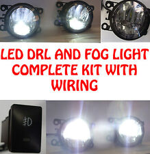 High Power LED DRL And Fog Lights With Wiring And Switch Ford Transit 06+