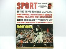 August 1967 Sport Magazine Roberto Clemente Ex. cond.