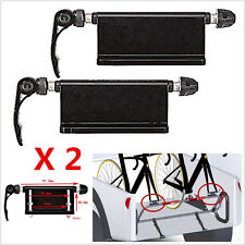 2pcs Bicycle Block Quick Release Fork Mount Pickup Truck Bed Rack For Ford F-150