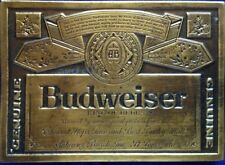 BUDWEISER King of Beers BELT BUCKLE~ Advertising Belt buckle