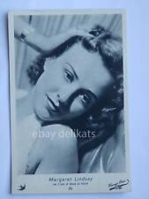 ELAH Warner Bros. MARGARET LINDSAY cinema vecchia cartolina old post card