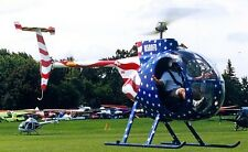 Mini 500 Revolution USA Light Helicopter Wood Model Replica Small Free Shipping