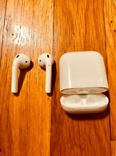 Apple AirPods White MMEF2AM/A In Ear Bluetooth Headset Authentic OEM USED ONCE