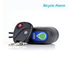 Bicicleta del sensor de movimiento anti Alarma antirrobo de bloqueo de seguridad