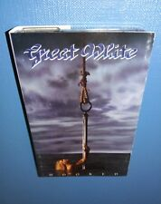 Great White, Hooked, 1991 CASSETTE *PLAY TESTED* GOOD / VG