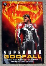 """SUPERMAN GODFALL"" Graphic Art DC Novels Book"