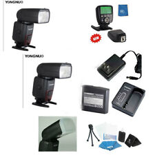 TWO of the YONGNUO YN860Li-KIT Lithum Battery Wireless Flash + YN560-TXII Nikon