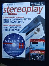 Stereoplay 1/02 Magnat vintage 450,jbl XTI 80,jm LAB CHORUS 715, Canton Ergo 700