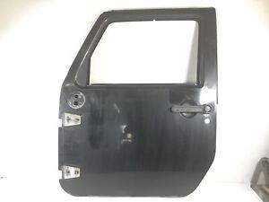 Jeep Wrangler Door Front Driver Side LH Left Front Black Shell JK JKU Unlimited;