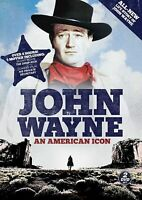 John Wayne: An American Icon (DVD, 2012, 2-Disc Set) SEALED  FREE S/H