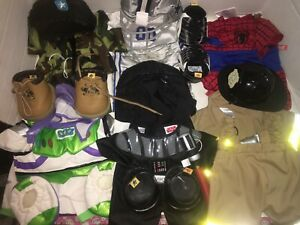 Large lot of Build-a-Bear Clothes & Outfits
