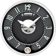 1955-56 Fullsize 1958-62 Corvette In-Dash Clock With Quartz Movement Black Face