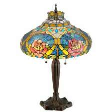 Meyda Lighting 26'H Dragonfly Rose Table Lamp - 138108