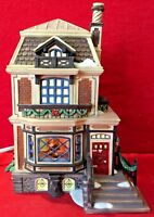 Fred Holiwel's House Dept 56 Dickens Village 58492 Christmas Carol home city A