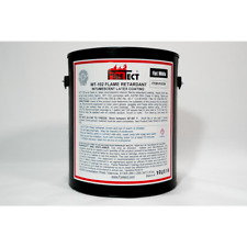 Wt-102 1 gal. White Flat Latex Intumescent Fireproofing Flame Retardant Paint Co