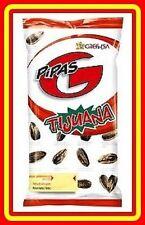 5 X 200 g - SPANISH PIPAS -  *** TIJUANA TASTE *** SUNFLOWER SEEDS