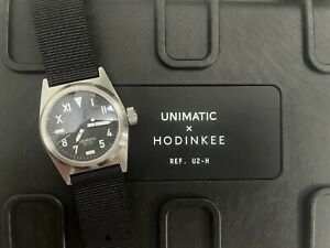 UNIMATIC Modello Due U2-H Limited Edition HODINKEE Full Box And Papers