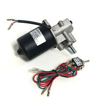 "Makermotor 3/8"" D Shaft Gear Motor 12v DC 50RPM Gearmotor + Reverse Switch"