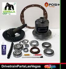 GM Chevy Posi Limited Slip 8.6 10 Bolt 3.73 Gears Master Install Kit 2000 2008