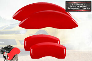 2015-2020 Ford F150 F-150 Front + Rear Red MGP Brake Disc Caliper Covers 4 piece