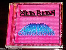 Acid Reign: Obnoxious CD 2010 Bonus Tracks Lost & Found Records LFR-1012-2 NEW