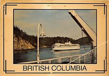 BG13764 ship bateaux  queen of victoria active pass british columbia canada