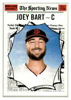 2019 Topps Heritage Minor League #182 Joey Bart San Jose Giants Sport News AS