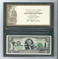 USA - Federal Reserve Note, 2003 Two (2) Dollars