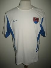 Slovakia home national sfz football shirt soccer jersey trikot maillot size M