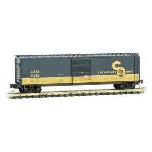 Z Scale Micro-Trains MTL 50500426 C&O Chesapeake Ohio 50' Box Car #21494 Cameo