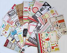 My Mind's Eye & Teresa Collins  12 x 12 Cardstock Die-Cuts (19 sheets) Save 75%