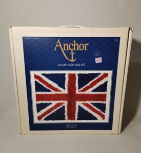 Anchor LH2007 Union Jack Latch Hook Rug Kit - New & Unused
