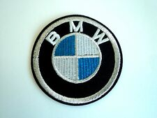 1x BMW Logo Car Patch Embroider Cloth Patches Applique Badge Iron Sew On