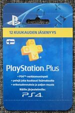 PlayStation® Plus - PlayStation Network - 12 Months - ONLY VALID FINLAND ACCOUNT