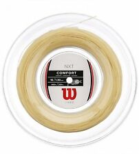 BRAND NEW WILSON NXT 16 1.30mm 660ft 200m Reel Tennis String Natural