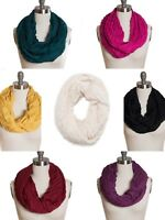 New Chevron Pleated Infinity Loop Circle Wrap Around Scarf nwt $26 Tags