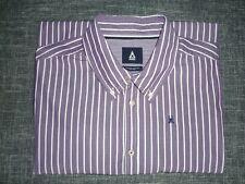 GAASTRA-Herren Hemd Langarm Violett/Lila-Weiß-gestreift Baumwolle Gr.XL/XXL TOP