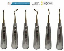 Dental Spade Elevator Bernard Surgical Extraction Spade Elevator Set Of 6