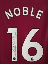 More details for mark noble signed west ham shirt