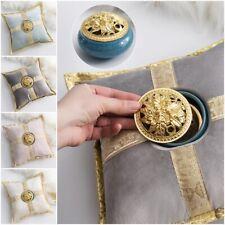 Creative Golden Ceramic Incense Burner Pillow Censer Holder Yoga Accessories
