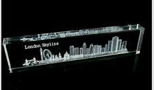 London Skyline 3D Crystal British Souvenir Gift from UK Collectable Memorabilia