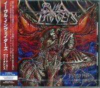 EVIL INVADERS-FEED ME VIOLENCE-JAPAN CD BONUS TRACK E25