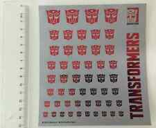 2016 Transformers Autobot logo stickers