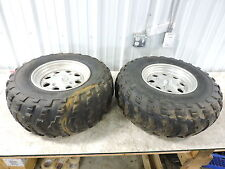 08 Can-Am Canam ATV 800 Renegade rear back wheels rims and tires