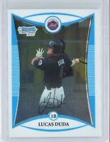 2008 Bowman Chrome Prospects #BCP147 Lucas Duda RC Rookie (Mets)