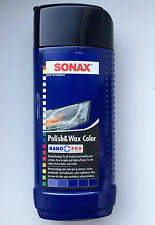 SONAX Polish & Wax Color Nano Pro BLUE color car polisher 250ml 8.5oz