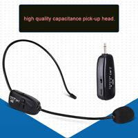 NEW 2.4G Wireless Microphone Megaphone Headset Radio for Speech Loudspeaker Mic