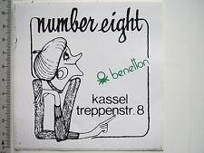 Aufkleber Sticker Benetton - Modelabel - Bekleidung - Kassel (7196)