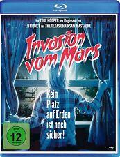 Tobe Hooper INVASION dal MARS TIMOTHY BOTTOMS Karen NERO BLU-RAY NUOVO